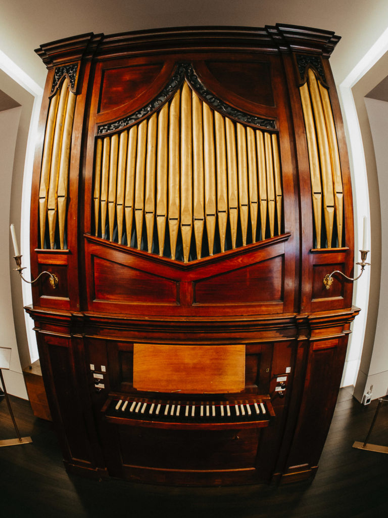 St cecilia's hall museum edinburgh sctoland musée ecosse edimbourg