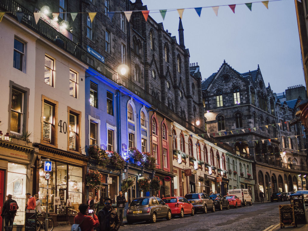 rue edimbourg street edinburgh ecosse scotland