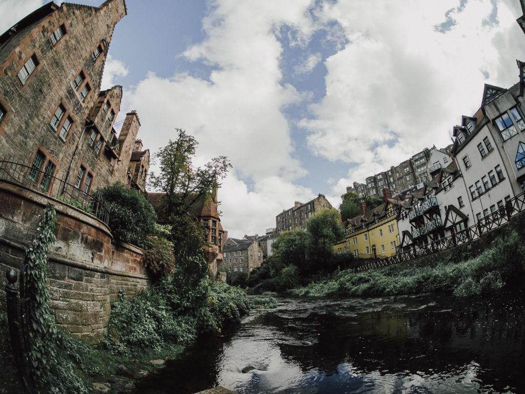Dean Village river