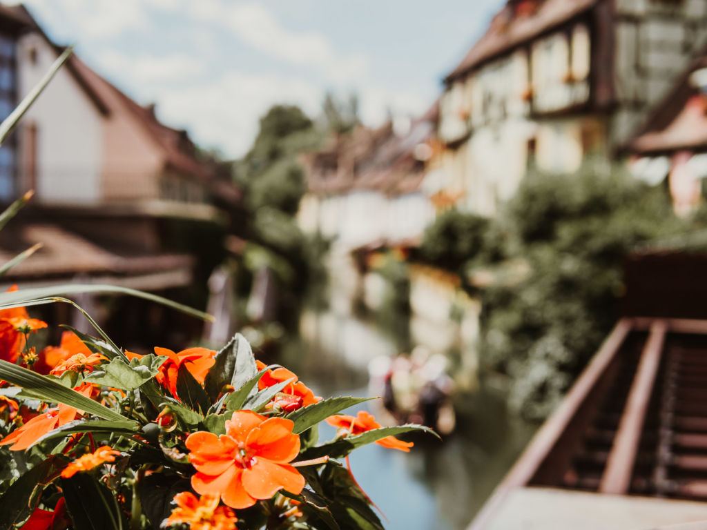 Colmar alsace canal rue