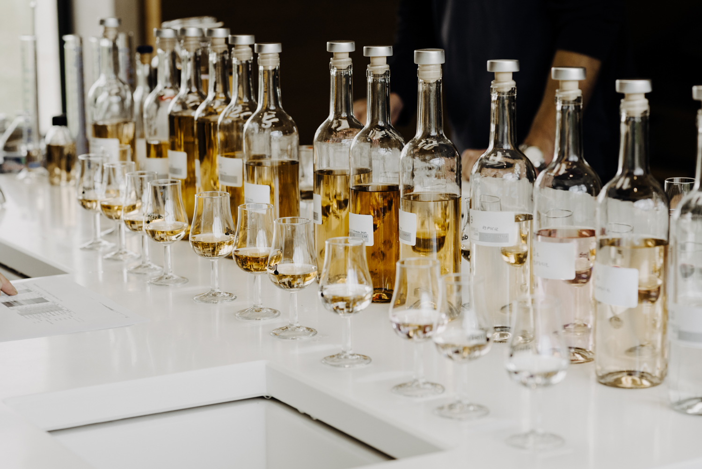 différents assemblage de whisky