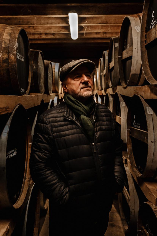 portrait du doyen de la distillerie